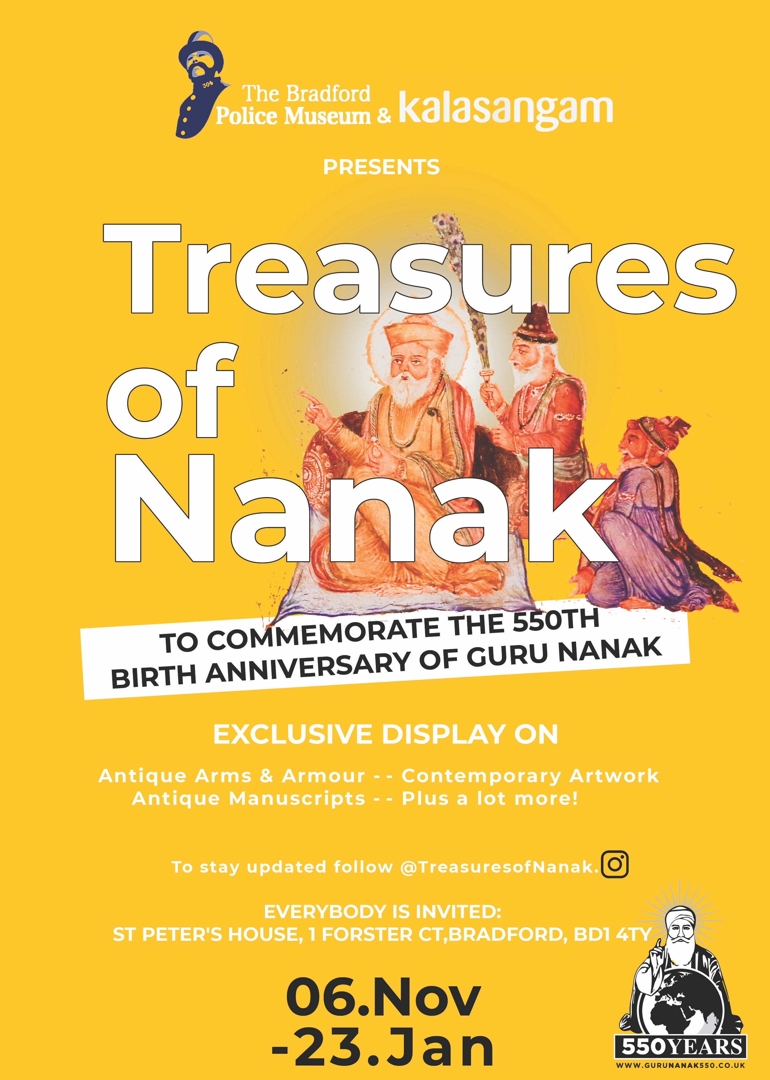 Treasures Of Nanak Bradford Districts Whats On Guide
